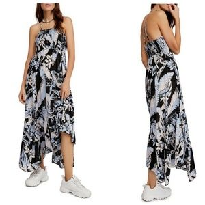 Free People Sleeveless Maxi Dress Heat Wave